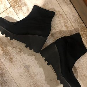 Nine West ...... wedge boots